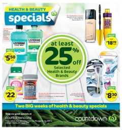 Health & Beauty Specials