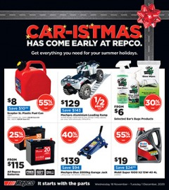 Car-istmas Has Come Early to Repco