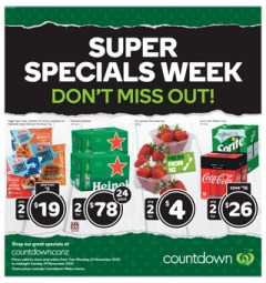 Countdown Weekly Mailer