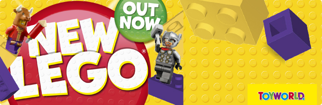 New Lego Out Now - Toyworld