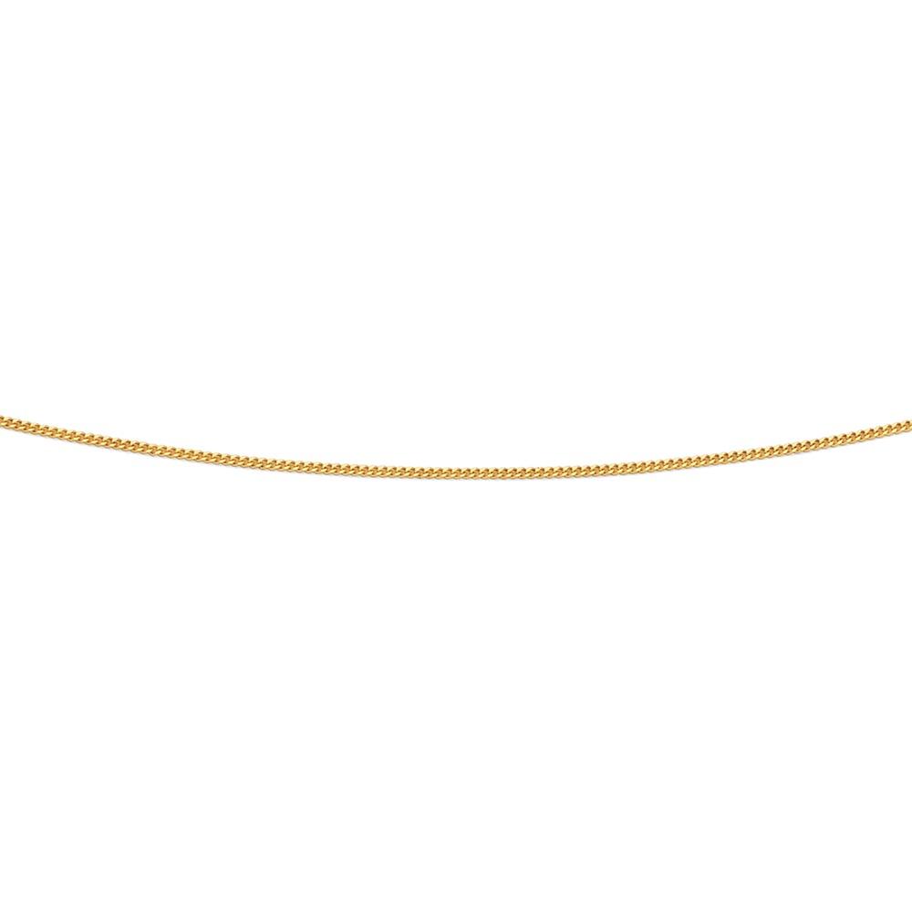 9ct 45cm Italian Made Curb Chain