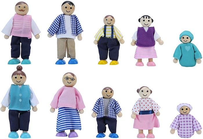 Wooden Family Set