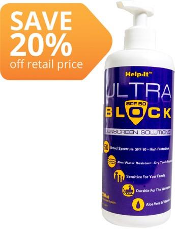 Help-It Ultra Block Sunscreen SPF50+