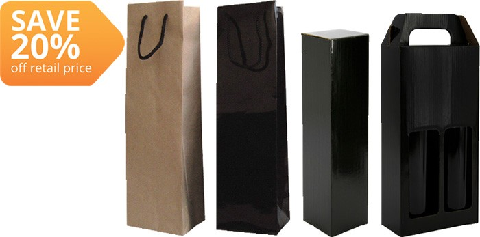 Bottle Gift Boxes & Bags
