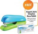 Rapid-F6-Half-Strip-Stapler-FREE-RAPID-266-STAPLES-BOX5000-WITH-PURCHASE Sale