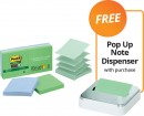 Post-it-Notes-Super-Sticky-Recycled-Pop-Up-FREE-POP-UP-NOTE-DISPENSER-WITH-PURCHASE Sale