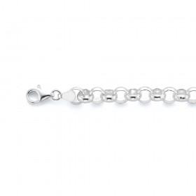 Sterling-Silver-20cm-Belcher-Bracelet on sale