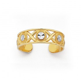 9ct-Toe-Ring on sale