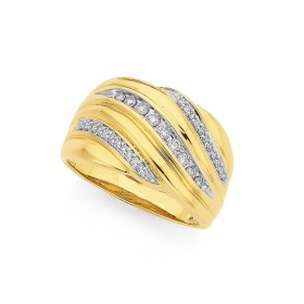 9ct-Diamond-Dress-Band on sale