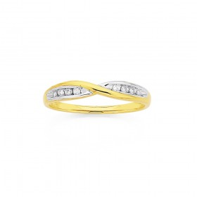 9ct-Diamond-Ring on sale