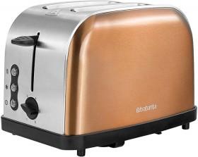 Brabantia-Copper-Colour-2-Slice-Toaster on sale