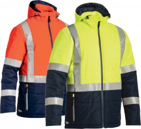 Bisley-Hi-Vis-Puffer-Jacket on sale