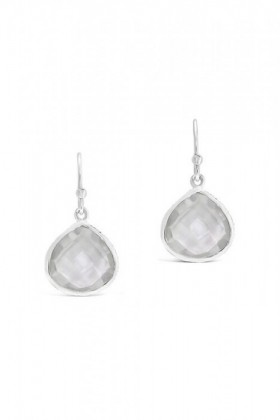 By-Fairfax-Roberts-Real-Gemstone-Single-Drop-Earrings on sale