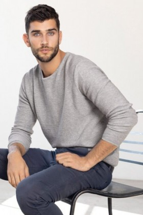 Mens-Crew-Neck-Sweater on sale