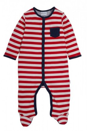 Pumpkin-Patch-Red-Stripe-Sleepsuit on sale