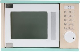 NEW-Wooden-Microwave on sale