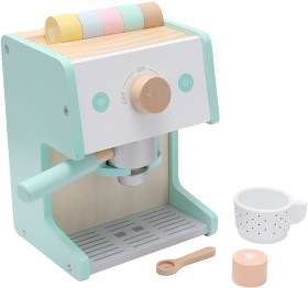 NEW-Wooden-Deluxe-Coffee-Machine on sale