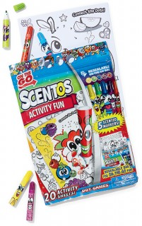 Scentos-Activity-Fun-Colouring-Book on sale