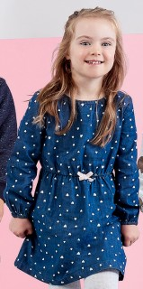 Kids-Printed-Chambray-Dress on sale