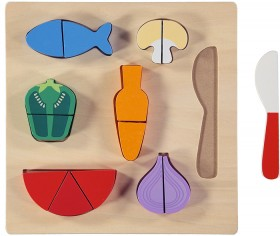 Wooden-Food-Board-Puzzle on sale