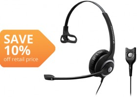 Sennheiser-Wired-Headset on sale