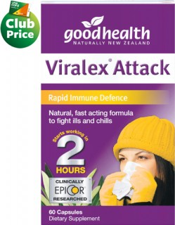 Good-Health-Viralex-Attack-Capsules-60s on sale