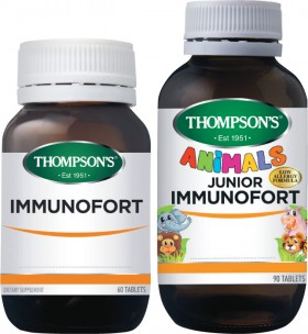Thompsons-60s-or-Junior-90s-Immunofort on sale
