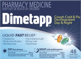 Dimetapp-Day-Night-with-PE-or-Day-Night-Liquid-Capsules-48s on sale