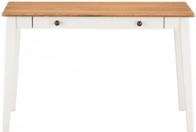 Maine-1-Drawer-Desk-White on sale