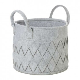 30-off-Living-Space-Weave-Felt-Basket-with-Handle-Large on sale