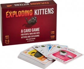 Exploding-Kittens-Card-Game on sale