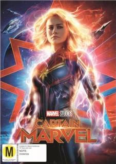 Captain-Marvel-DVD on sale