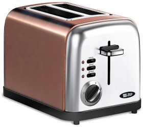 Zip-Metallic-Copper-Colour-Toasters on sale
