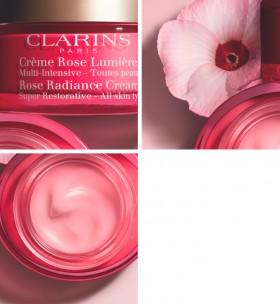 NEW-Clarins-Rose-Radiance-Cream-Super-Restorative-50ml on sale