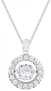 Everlight-Pendant-with-1-Carat-TW-of-Diamonds-in-14ct-White-Gold on sale