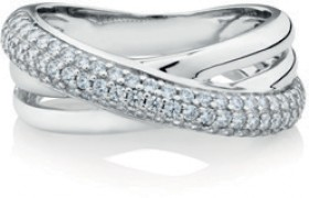 NEW-Ring-with-Cubic-Zirconia-in-Sterling-Silver on sale