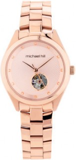 Ladies-Automatic-Watch-in-Rose-Tone-Stainless-Steel on sale