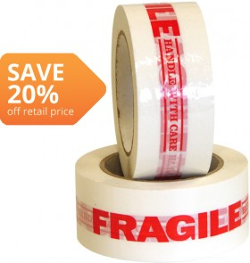 Fragile-Handle-With-Care-Tape on sale