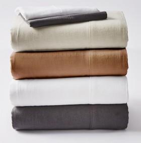 Koo-Loft-Cotton-Linen-Sheet-Sets on sale