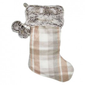 30-off-Bouclair-Sparkling-Moments-Plaid-Stocking on sale