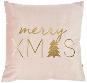30-off-Bouclair-Sparkling-Moments-Leith-Pink-Cushion-46x46cm on sale