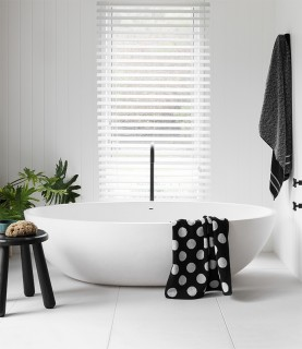 40-off-63mm-White-Faux-Wood-Venetian-Blinds on sale
