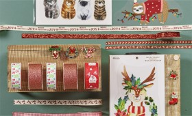 Christmas-Ribbons-Buttons-Trims on sale