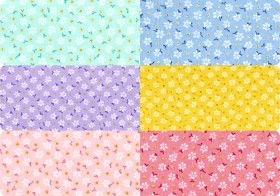 NEW-Floral-Dot-Quilting-Blenders on sale