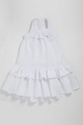 Pumpkin-Patch-Dress-with-Frill-Hem on sale