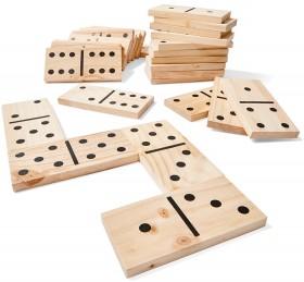 Wooden-Dominoes on sale