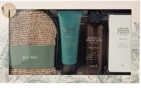 Natural-Essentials-Jute-Mitt-Pamper-Set on sale