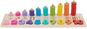 Wooden-Stack-Count-Learning-Set on sale
