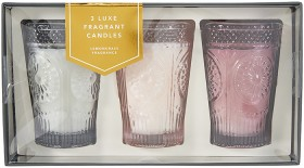 3-Luxe-Fragrant-Candles on sale