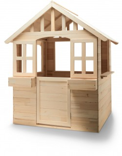 Wooden-Cubby-House on sale